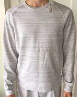 Lululemon Lab Men's Size S Signal Long Sleeve Gray GRYM Sweat Shirt Yoga Casual