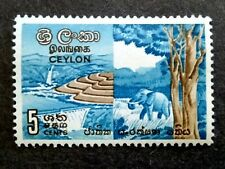 Ceylon 1963 National Conservation Week Single Issue - 1v MH