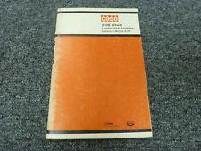 Case Model 310B Wheel Loader & Backhoe Owner Operator Maintenance Manual 9-971
