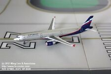 Aviation400 Aeroflot Russian Airlines Airbus A321 Current Color Model 1:400