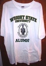WRIGHT STATE Dayton T shirt XL tee OH African American Alumni WSU mask logo