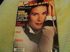 """TELE MAGAZINE N°2114 - 1996"" Demi MOORE, Jean-Claude DREYFUS, Claire KEIM"