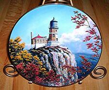 Split Rock Light Lighthouses Of America Danbury Mint Duluth Minnesota Plate