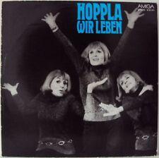 "GISELA MAY - Hoppla We Live 12 "" LP Amiga (L3950)"