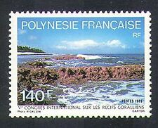 French Polynesia 1985 Coral Reefs/Nature/Environment/Conservation 1v (n37487)