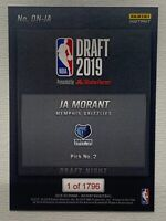 Ja Morant 2019-20 Panini Instant Draft Night RC /1796 🔥 LIMITED EDITION ROOKIE