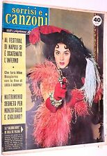 TV Sorrisi e Canzoni anno VIII n.22 del 1959 in copertina Julia De Palma