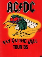 AC/DC 1985 FLY ON THE WALL U.S. TOUR CONCERT PROGRAM BOOK / BOOKLET / NMT 2 MINT