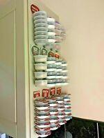 Tassimo Coffee Pod Holder Mount Capsule Dispenser Stand Rack - MULTI COLOURS