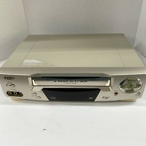Sanyo VWM-690 4-Head HI-Fi VCR VHS Player Recorder Tested Working WITHOUT REMOTE