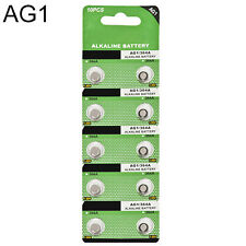 10X AG1 SR621 LR621 364 164 1.5V Alkaline Button Coin Cells Watch Battery Sturdy