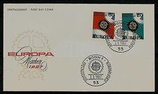 BRD FDC MiNr 533-534 (6) Europa (CEPT) 1967 -Vereinigung-Staatenbund-Politik-