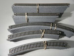 Kato N scale Assorted  Unitrack Straights & curved Tracks # 20-140