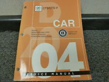 Cadillac other car truck manuals literature for sale ebay 2004 cadillac cts cts v sedan shop service engine repair manual v1 32l fandeluxe Gallery