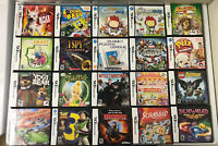 Lot Of 20 Nintendo DS Cases Art And Manuals NO Games Kids Replacement Disney