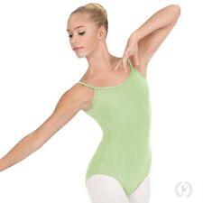 Sea Foam Green Camisole Princess Seam Leotard EUROTARD Adult Size 4464 NWT