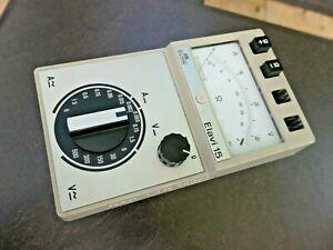 ELAVI 15 von H&B ELIMA Multimeter  incl. Koffer