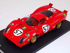 1/18 Ferrari 312P 1970 24 Hours of Le Mans Car #57 Parsons Adamowicz Lim100  f6