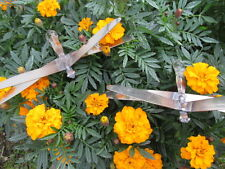 Pair of Metal Art Dragonfly Stakes Garden Decor Handmade in Usa
