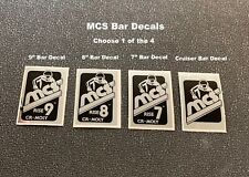 Mcs Magnum Bar Decals-Choose 1 from the 4 shown