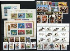 Olympische Spiele Sommer 1972-88 postfrisch