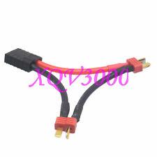 Traxxas TRX Female to Dual ESC XT Anti-Slip T-Plug Male Series 12AWG 5CM