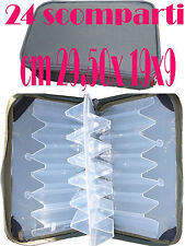 porta artificiali pesca spinning minnow rapala luccio mare vertical jig borsa