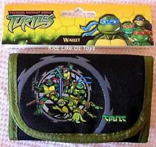 ~ TMNT Ninja Turtles - TRIFOLD WALLET & KEY HOLDER