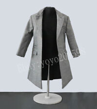 1:6th Scale Gray coat trench coat For 12