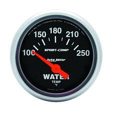 Auto Meter 3337 Water Temperature Gauge 2 116 100 250 Deg F