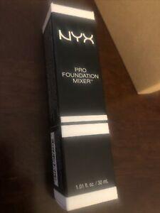 NYX Pro Foundation Mixer color PFM03 White Blanc 1.01 oz New In Box Sealed
