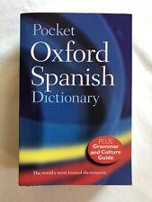 Pocket Oxford Spanish Dictionary by Carol Styles Carvajal, Nicholas Rollin...
