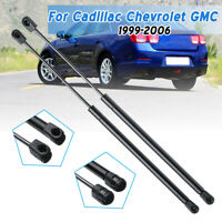 Pair Rear Window Glass Lift Supports Struts For Cadillac Chevrolet GMC