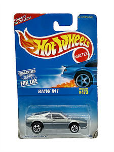 Vintage Hot Wheels Cars BMW M1 473 Diecast Vehicle Collectible Silver New