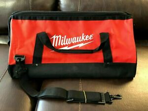 "Milwaukee 22"" Heavy Contractor Tool Bag 22"" x 12"" x 12"" - 6 Inside Pockets ~NEW~"