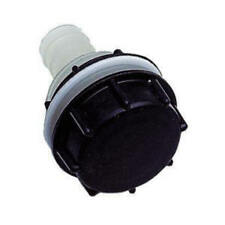 FRESH WATER INLET FILLER CAP UNIVERSAL WITH BACKNUT MOTORHOME/CAMPER/BOAT