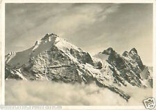 N°89 ZEPPELIN Säntis Alpes Suisse Switzerland Dirigible AIRSHIP CARD IMAGE 30s
