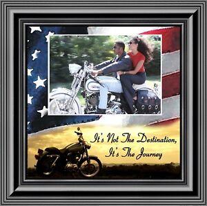 Its' not the Destination, Harley Davidson Bike, 10X10 9754B
