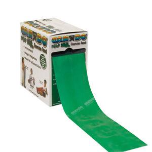 5 Feet CanDo Resistance Exercise band Green Medium 5ft New