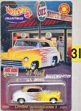 HOT WHEELS COLLECTIBLES CAR ART SERIES '47 FORD W+