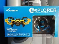 DRONE FOTO VIDEO Amewi Mini FPV UFO EXPLORER RTF, veicolo, 2.4GHz/Camera (Y6E)