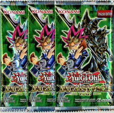 YuGiOh! Duelist Pack Yugi UNL Edition New And Sealed Booster Packs x3