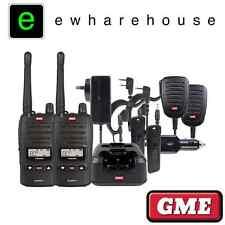 GME TX6155 TWIN KIT 5 WATT HANDHELD UHF CB RADIOS *TX6155 TRADIE PACK WITH CASE*