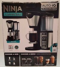 Ninja Coffee Bar Auto IQ Brewer w/ Glass Carafe Includes Frother, NEW