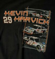 2002 Kevin Harvick Race Schedule T-Shirt XL #29 Nascar (S1)