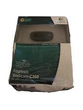 Logitech C260 Web Cam -16:9 Video & 3MP Photos 720p