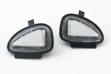 VW Golf MK6 Eos Touran Tiguan Charco Luz Lámpara LED Espejo Lateral Blanco 6000K Set
