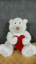 Hallmark Talking Bear holding Heart