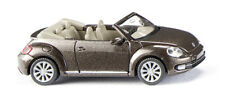 Wiking 002802 VW the Beetle Cabriolet - Toffeebraun Métallique 1 87 (h0)