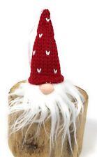 Schöner Wichtel Weihnachts DekoNikolaus aus Filz B5 x H9 cm